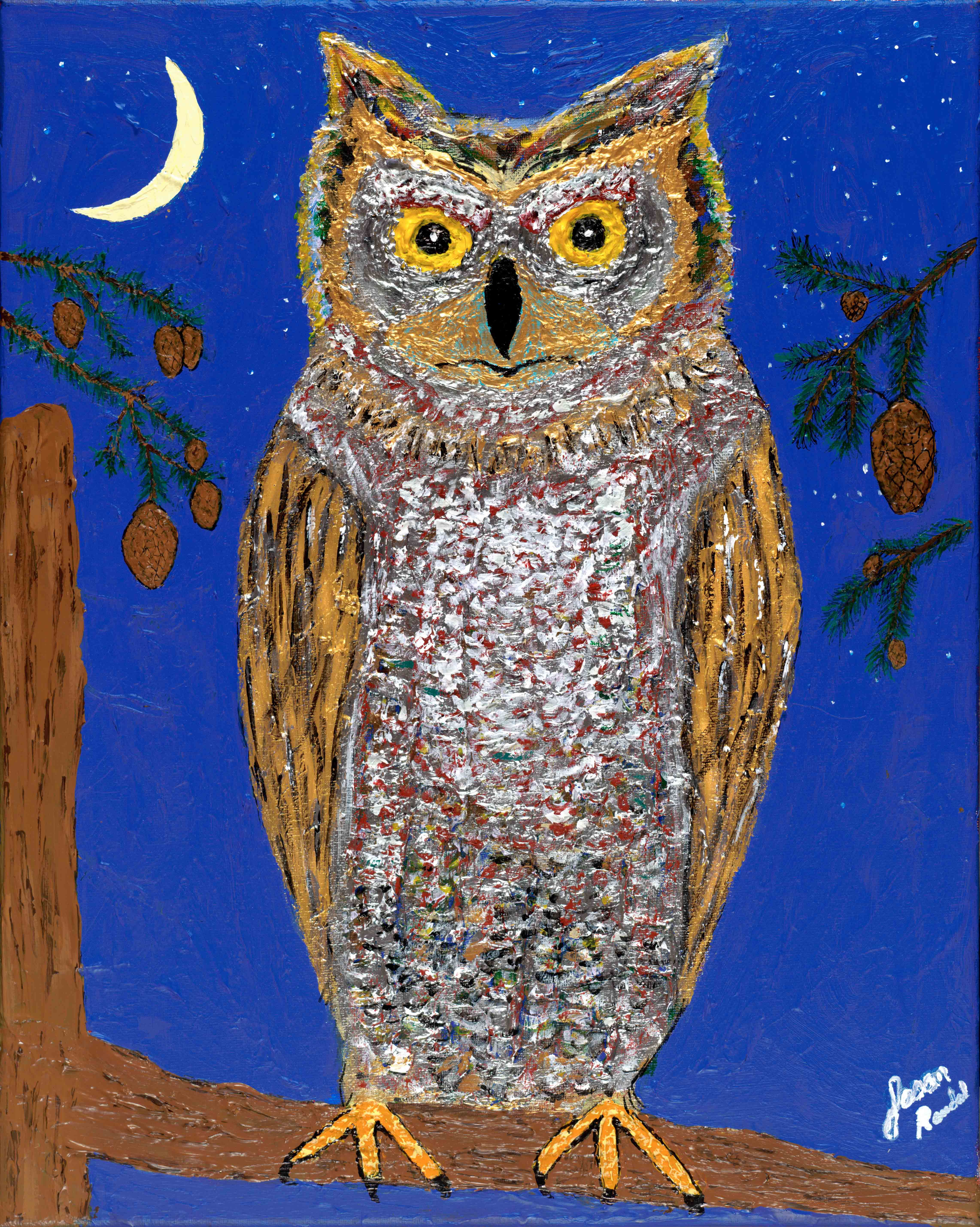Owl, 1/20/11, 2:16 PM, 8C, 6000x4990 (0+1968), 100%, Repro 1.8 v2, 1/20 s, R117.0, G92.7, B114.4