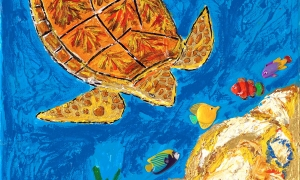 Sea Turtle, 5/3/13, 4:43 PM, 8C, 6000x8000 (0+0), 100%, Custom, 1/25 s, R119.2, G94.9, B115.6
